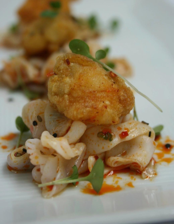 chili pepper squid