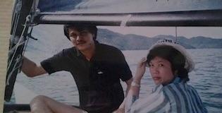 Dad & Mom in PEnang .